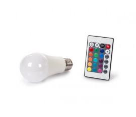 LAMPE LED - 10 W - E27 - RVB & BLANC CHAUD