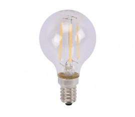 AMPOULE À FILAMENT LED - BOULE - 5 W - E14 - BLANC CHAUD