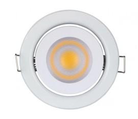SPOT LED ENCASTRABLE 5 W - GU10 - 230 V - BLANC CHAUD