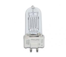 LAMPE HALOGÈNE 500W / 240V, GY9.5, 2900K,  (7389)