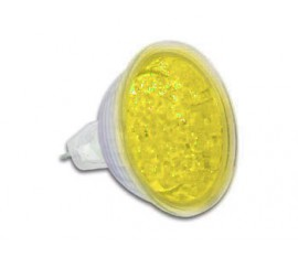 LAMPE LED MR JAUNE 16 12VCA