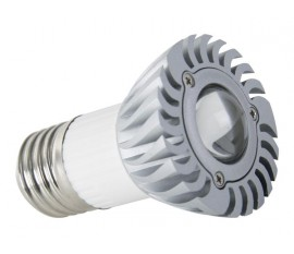 LAMPE LED 3W - BLANC CHAUD (2700K) - 230V - E27