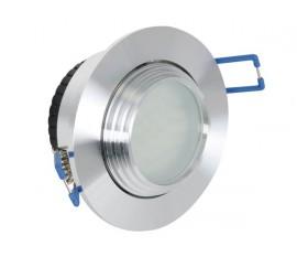 PLAFONNIER À LED BLANCHE - LENTILLE FLOOD - 24 V - BLANC CHAUD (2700K)