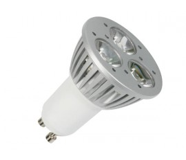AMPOULE LED 5W - 230V - GU10 - BLANC CHAUD (2800-3000K)