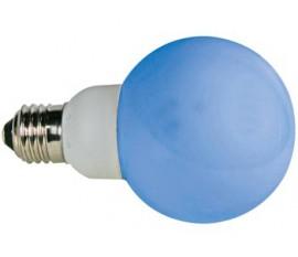 AMPOULE LED BLEUE - E27 - 230VCA - 20 LED