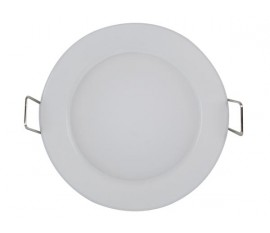 PLAFONNIER À LED 5 W - ROND - BLANC CHAUD