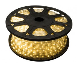 FLEXIBLE LUMINEUX À LEDs - BLANC CHAUD - 45m