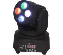 LYRE DMX A 4 LED RGBW AVEC EFFET WASH