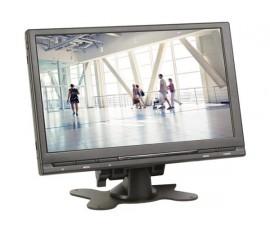 """MONITEUR NUMÉRIQUE TFT-LCD 9"""" AVEC TÉLÉCOMMANDE - 16:9 / 4:3"""