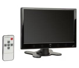 """MONITEUR LCD - 9"""" - VGA/HDMI - TÉLÉCOMMANDE - HAUT-PARLEUR INTÉGRÉ"""