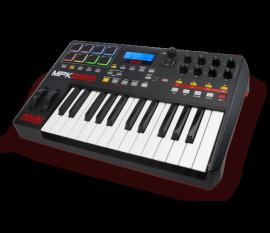 Clavier contrôleur MIDI USB 25 touches + 8 Pads
