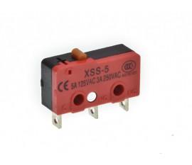 Mini Microswitch sans levier (ON)-ON 5A-125V / 3A-250V