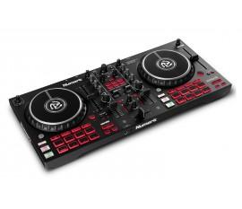 Contrôleur DJ USB 2-canaux avec 16 pads  NUMARK Mixtrack Pro FX