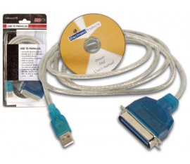 CABLE USB - PARALLELE (CENTRONICS)