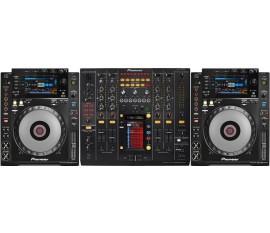 Pack pioneer : 2 x CDJ-900 NXS + DJM-2000 NXS