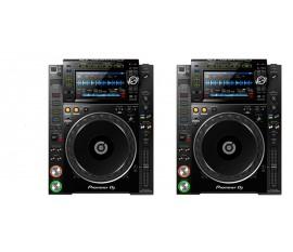 Pack Pioneer : 2 x CDJ-2000NXS2