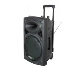 Port 12VHF/BT sono portable ibiza + micros sans fil