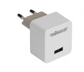 CHARGEUR AVEC CONNEXION USB 5 V - 2.4 A