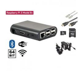 Matériel Raspberry Pi 3+ Starter Kit + Wi-Fi + Bluetooth® + NOOBS Software Tool