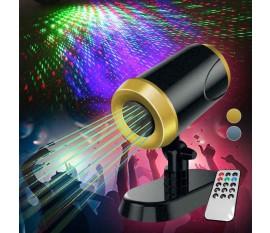 Enceinte Bluetooth 20 W avec projecteur de lumière synchronisée RVB Rythm'N Light