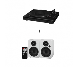 PLATINE DJP-106BT BLUETOOTH + SET HAUTS-PARLEURS SOUND-4BT/WS BLUETOOTH