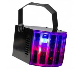 USB DERBY un effet lumière RGBW très polyvalent et dynamique pour toutes vos fêtes