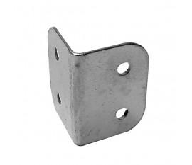 COIN DE PROTECTION POUR ENCEINTES, BLANC METALLIQUE, 29 x 40mm x 90°