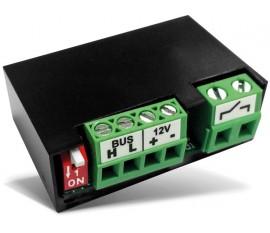 module relais miniature à 1 canal avec contact libre de potentiel pour montage universel