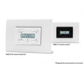 thermostat à afficheur LCD et sauvegarde du temps pour usage avec VMB1TS(W) , blanc