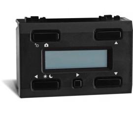thermostat à afficheur LCD et sauvegarde du temps pour usage avec VMB1TS(W) , noir