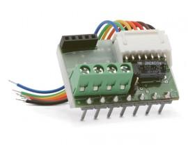 interface pour boutons-poussoirs Niko® à 4 ou 6 contacts
