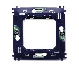 jeu de 5 supports pour module de commandes en finition verre, standard à vis