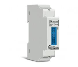 compteur d'énergie monophasé pour rail DIN, 5 (40) A, pour connexion à VMB7IN