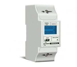 compteur d'énergie monophasé pour rail DIN, 5 (80) A, pour connexion à VMB7IN