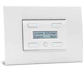 module de commande avec afficheur LCD configurable 32 fonctions et sauvegarde de l'heure et de la date, blanc