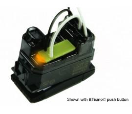 jeu de 5 LED de notification d'état oranges pour boutons-poussoirs BTicino® LivingLight (non-axialement) pour utilisation avec VMB8PBU