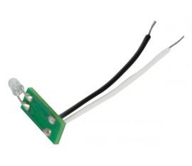 jeu de 5 LED de notification d'état bleues pour boutons-poussoirs Niko® pour utilisation avec VMB8PBU