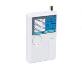 TESTEUR USB/LAN POUR USB-A, USB-B, BNC, RJ45, RJ12, RJ11, RJ10