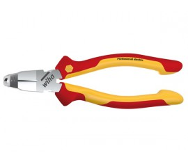 VDE/GS INSULATED TRICUT STRIPPING INSTALLATION PLIERS - WIHA - Z14106