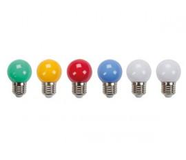 AMPOULES LED MULTICOLORES - 10 pcs LAMPES COULEUR DE RECHANGE POUR XMPL10RGB