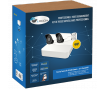 LVK-200 SECURITY CAMERA KIT: 2X BULLET CAMERAS 4MP + 4-CHANNEL NVR  + HDD 1Tb
