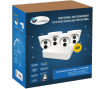 LVK-215 SECURITY CAMERA KIT: 4X DOME CAMERAS 4MP + 8-CHANNEL NVR HDD 1Tb