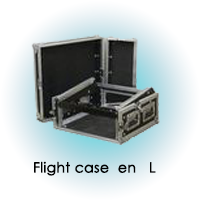 FLIGHTCASE RACK EN L